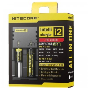 Cargador Nitecore Intellicarger  I2 V2