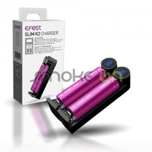 Cargador Efest Slim K2 Intelligent