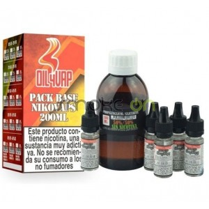 PACK BASE 200ML 50PG 50VG 15MG OIL4VAP