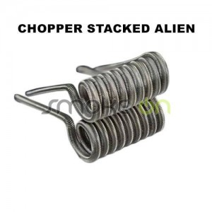 CHOPPER STACKED ALIEN 26 38 024ohm MECHANICAL EDITION CHARRO COILS
