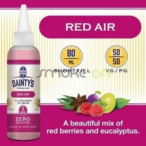 RED AIR 80ML 0MG DAINTY S PREMIUM