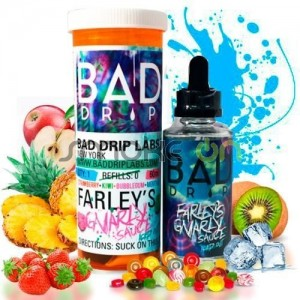 FARLEY S GNARLY SAUCE ICED OUT 50ML 0MG BAD DRIP