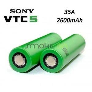 PACK DE BATERIAS SONY VTC5 IMR 18650 35A 2600mAh