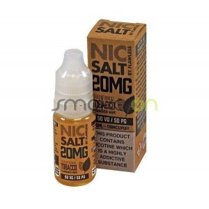 TRADITIONAL TOBACCO NIC SALT 10ML 20MG FLAWLESS