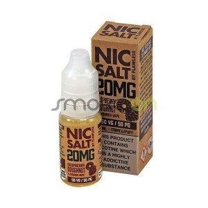 RASPBERRY DOUGHNUT NIC SALT 10ML 20MG FLAWLESS