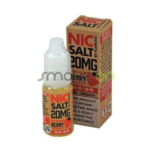 STRAWBERRY NIC SALT 10ML 20MG FLAWLESS