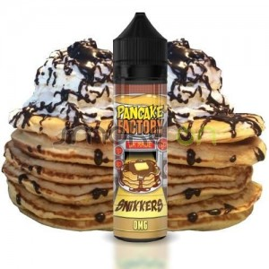 SNIKKERS 50ML 0MG PANCAKE FACTORY
