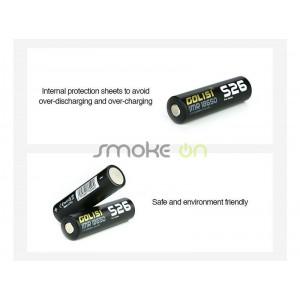Bateria Golisi S26 Imr 18650 2600mah 35a
