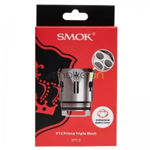 CAJA RESISTENCIA V12 PRINCE TRIPLE MESH 015ohm 3 UDS SMOK