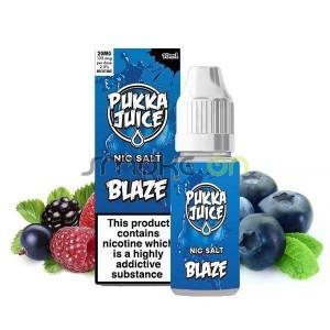 BLAZE NO ICE NIC SALT 10ML 20MG PUKKA JUICE