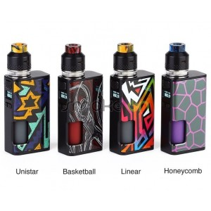 Kit Luxotic Surface 80w + Kestrel Rdta - Wismec