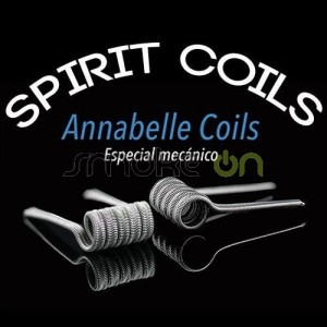 Annabelle Coils 0.11 Ohm (2 Uds) - Spirit Coils