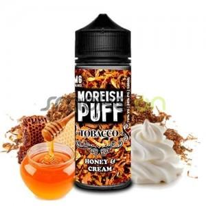 TOBACCO HONEY AND CREAM 100ML 0MG MOREISH PUFF