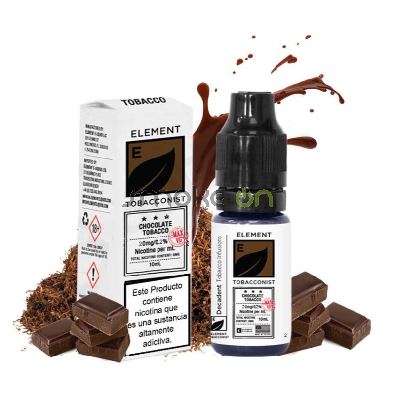 CHOCOLATE 10ML 20MG ELEMENT SALTS