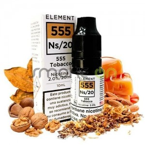 555 TOBACCO 10ML 20MG ELEMENT SALTS