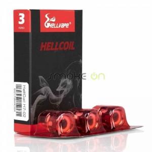 Resistencias Hellcoil H7 02 0.20 Ohm (3 Uds) - Hell Vape