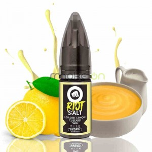 Loaded Lemon Custard Sales De Nicotina 10ml 20mg - Riot Squad