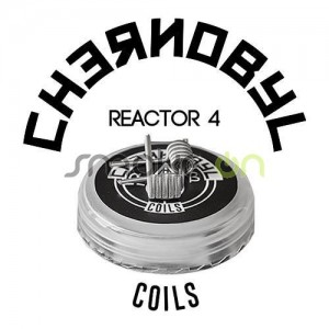 Chernobyl Reactor 4 0.22 Ohm (2 Uds) - Charro Coils