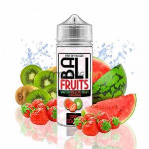 Bali Fruits Watermelon Kiwi Strawberry 100ml 0mg - Kings Crest