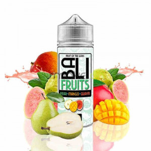 Bali Fruits Pear Mango Guava 100ml 0mg - Kings Crest