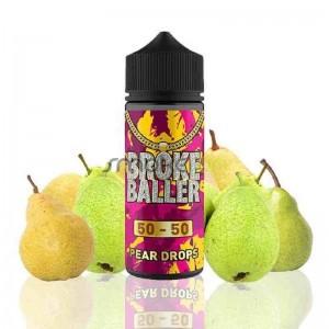 Pear Drops 80ml 0mg - Broke Baller