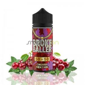 Cherry Menthol 80ml 0mg - Broke Baller