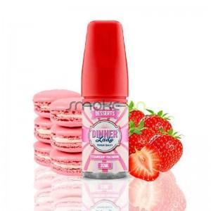 Aroma Desserts Strawberry Macaroon 30ml - Dinner Lady