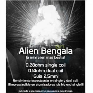 ALIEN BENGALA 5X 25MM 014OHM 2 UDS CHUS COILS