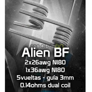 ALIEN BF 5X 3MM 014OHM 2 UDS CHUS COILS