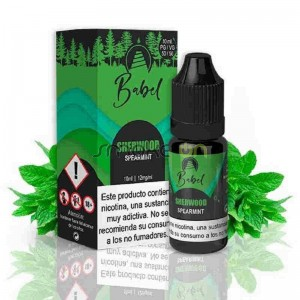 SHERWOOD 10ML 0MG BABEL E LIQUID