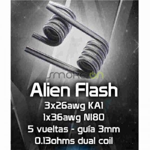 ALIEN FLASH 5 X 3MM 013OHM 2 UDS CHUS COILS
