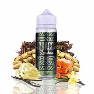 TOBACCO KHAKI 100ML 0MG SHADES
