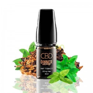 MINT TOBACCO CBD 30ML 250MG DINNER LADY