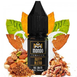 NUTTY BLEND SALTS 10ML 10MG MONDO