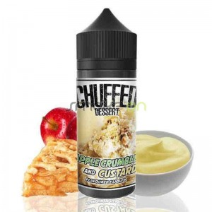 APPLE CRUMBLE CUSTARD 100ML 0MG CHUFFED DESSERT