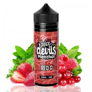 RED A MENTHOL 100ML 0MG JUICE DEVILS